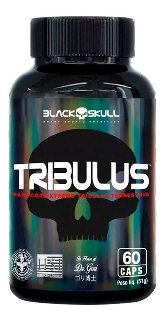 TRIBULUS 60 CAPS BLACK SKULL