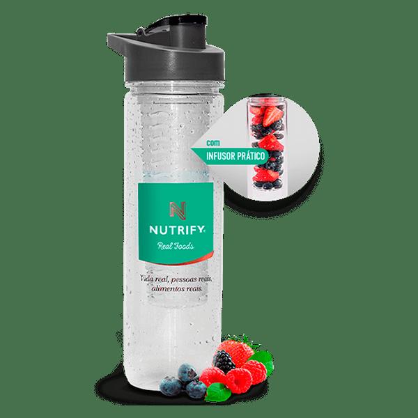 WATER BOTTLE COM INFUSOR NUTRIFY