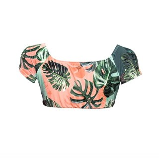 TOP BLOUSE TROPICAL CHIC