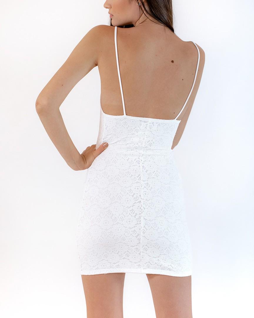 Vestido Francis Branco
