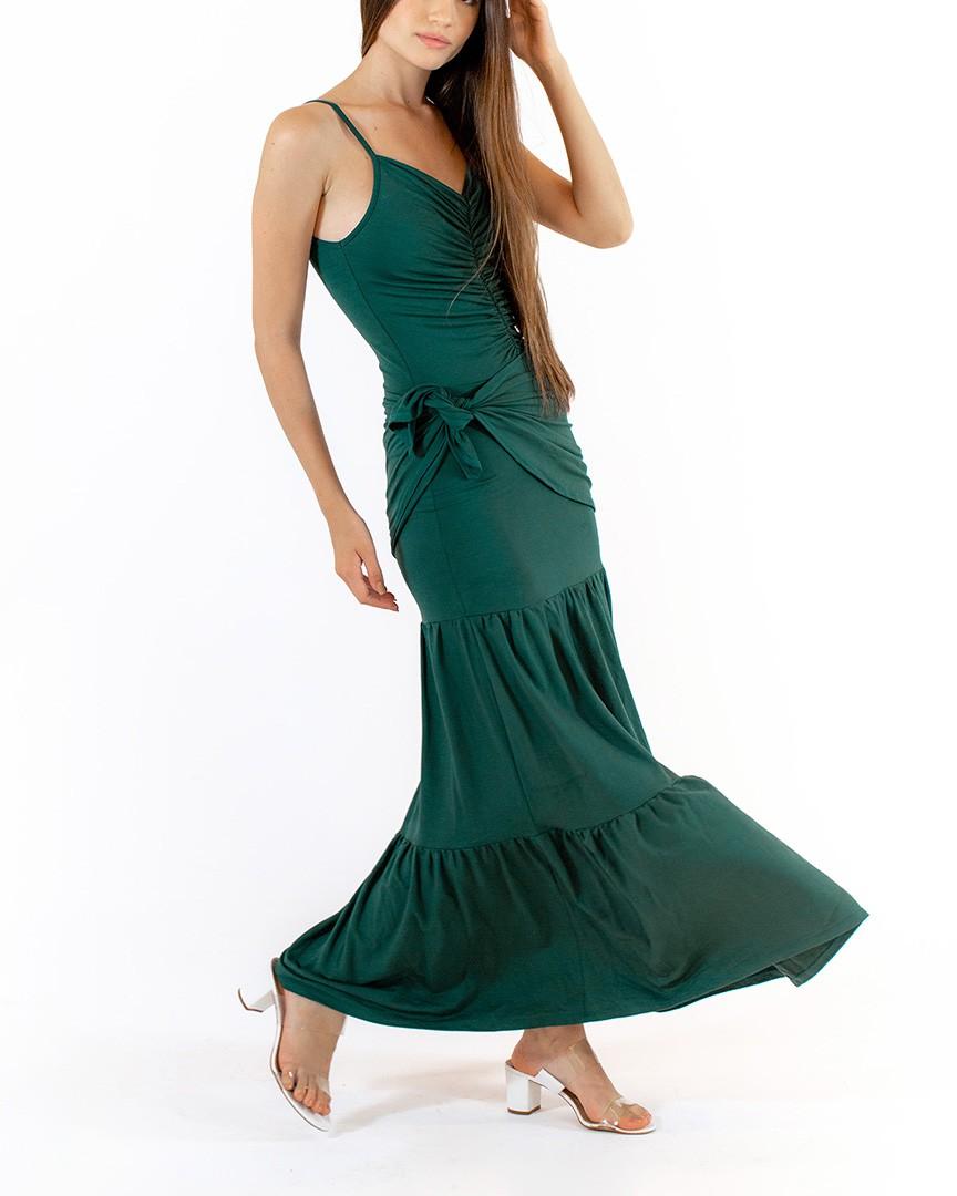 Vestido Vivi Verde Musgo