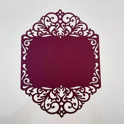 Capa de Convite Emoldurado