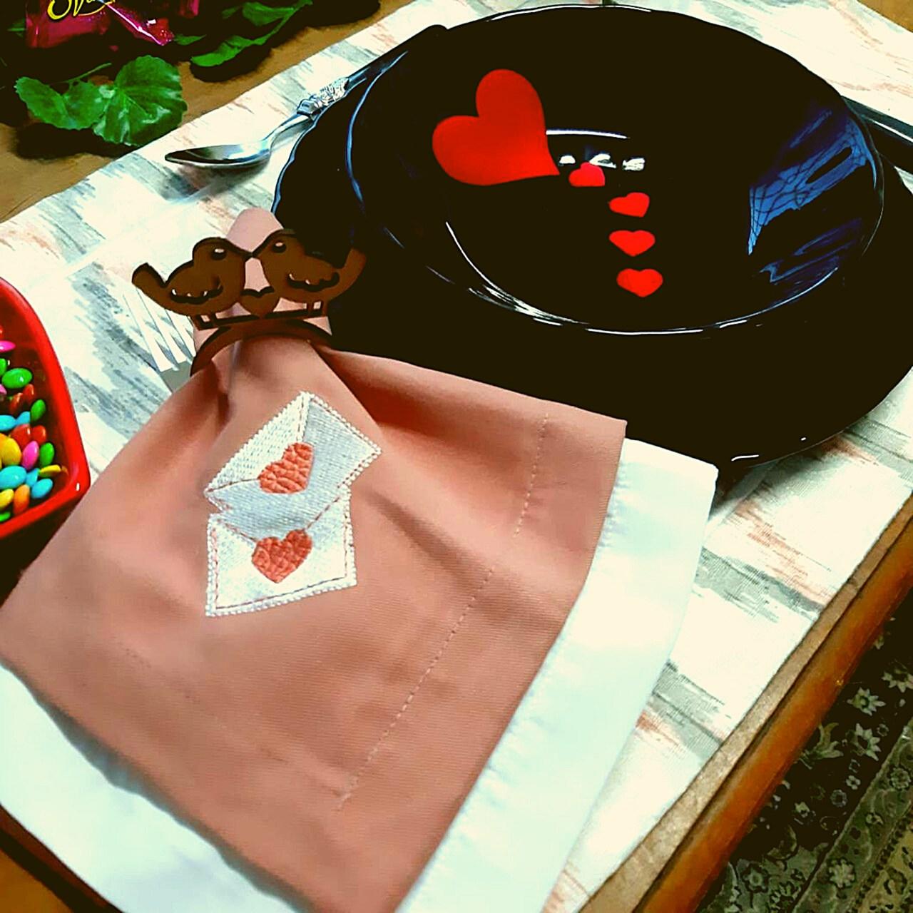 Kit de Mesa Posta Completo - Cartas para Julieta (2un)