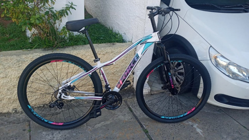 Bicicleta Feminina X-force Aro 29 Onix Freio A Disco 21v Amo
