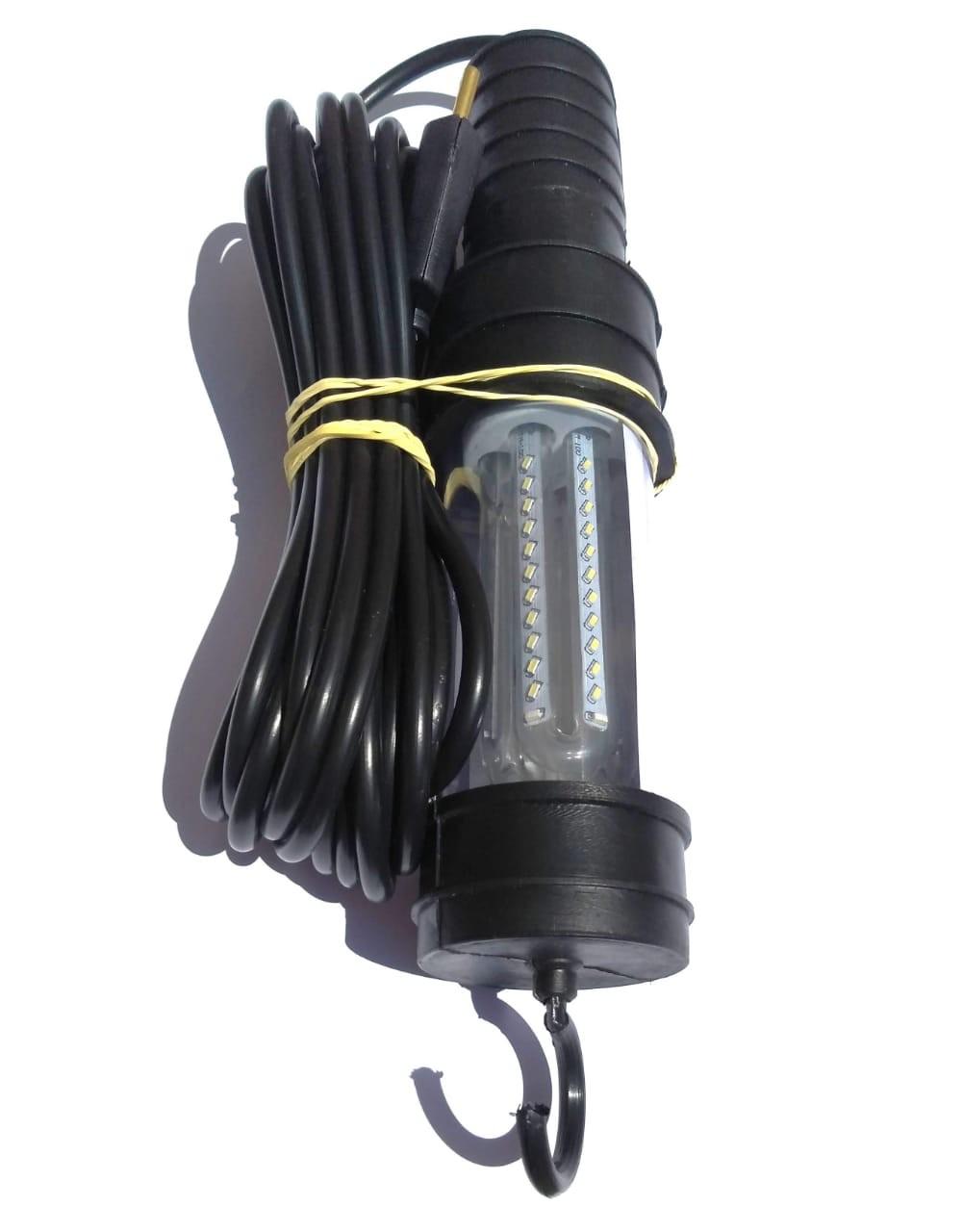 Cordão Pendente Luz Bivolt - Super Led - Cabo De 7m - Plug