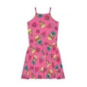 Vestido Verão Infantil Rovitex Rosa