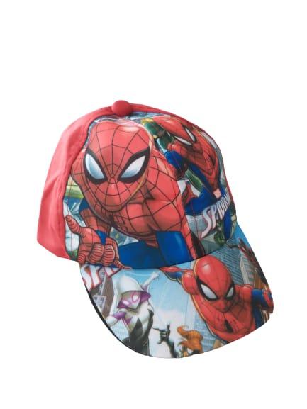 Boné Infantil Poliester Homem Aranha
