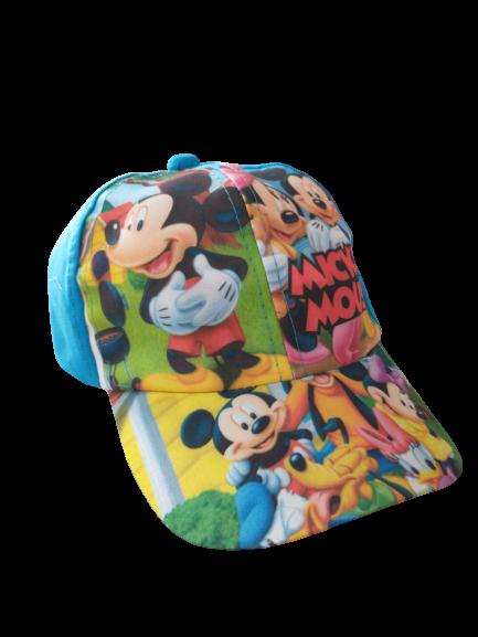 Boné Infantil Poliester Mickey