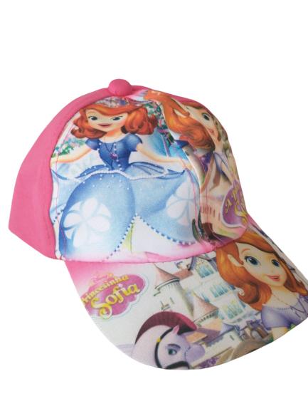 Boné  Infantil Poliester Princesa Sofia