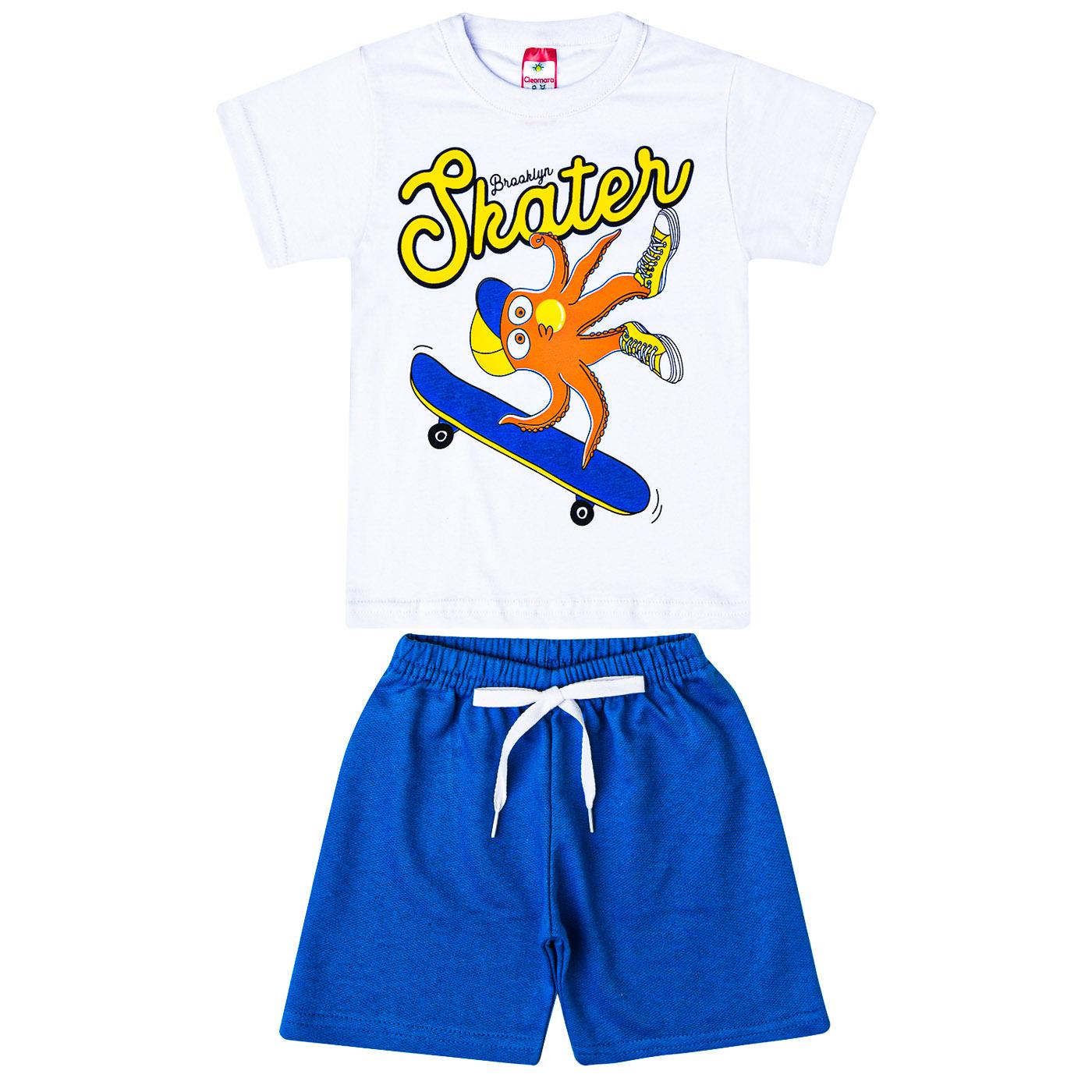 kit com 6 Conjuntos Infantis Verão para Menino.