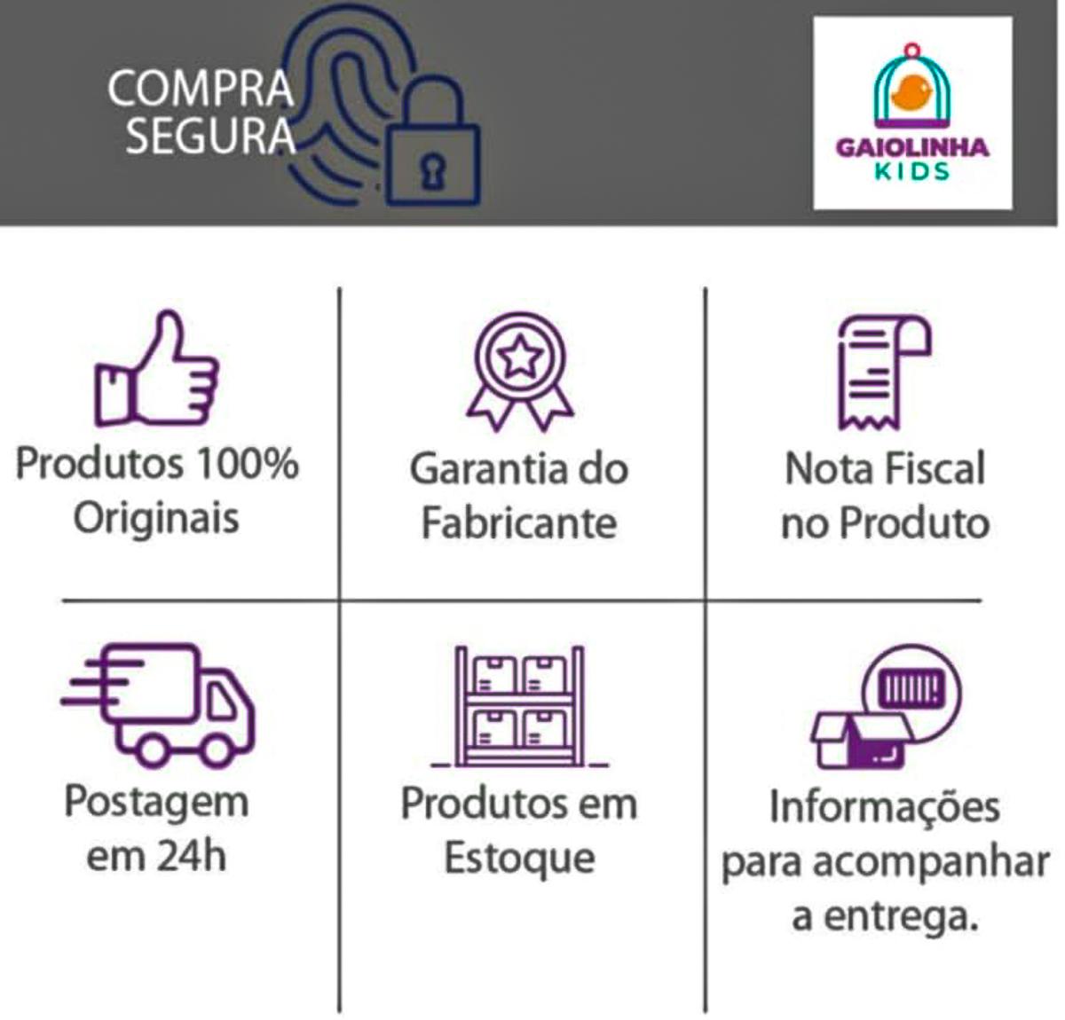 Kit Maternidade 5 Peças Raposa