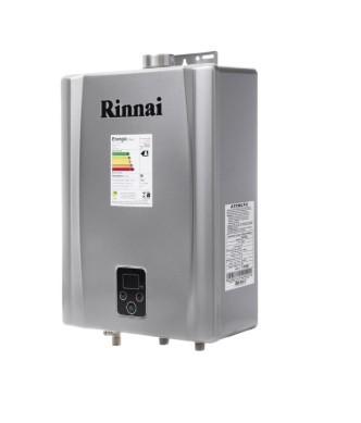 AQUEC. GAS RINNAI E17 - 17 L/MIN - GLP - PRATA