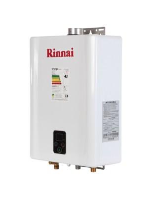 AQUEC. GAS RINNAI E17 - 17 L/MIN - GN - BRANCO