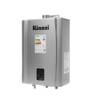 AQUEC. GAS RINNAI E21 - 21 L/MIN - GLP - PRATA