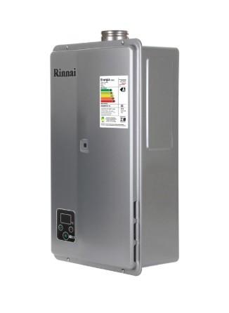 AQUEC. GAS RINNAI E27 - 27 L/MIN - GN - PRATA