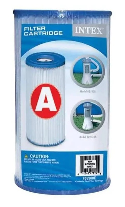 Cartucho para Filtro A - 1/6 E 1/15 HP (11X20) - Intex