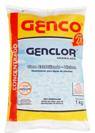 Cloro granulado Genclor Genco 1KG