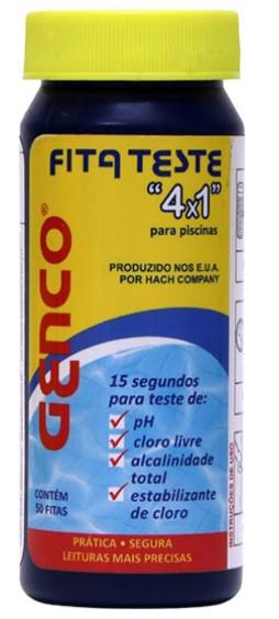 FITA TESTE GENCO 4 X 1 COM 50 FITAS