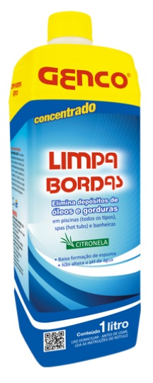 GENCO - Limpa bordas 01 Litro