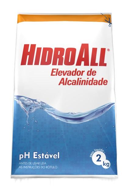 HIDROALL - Elevador de PH / Estável - 02 Kgs