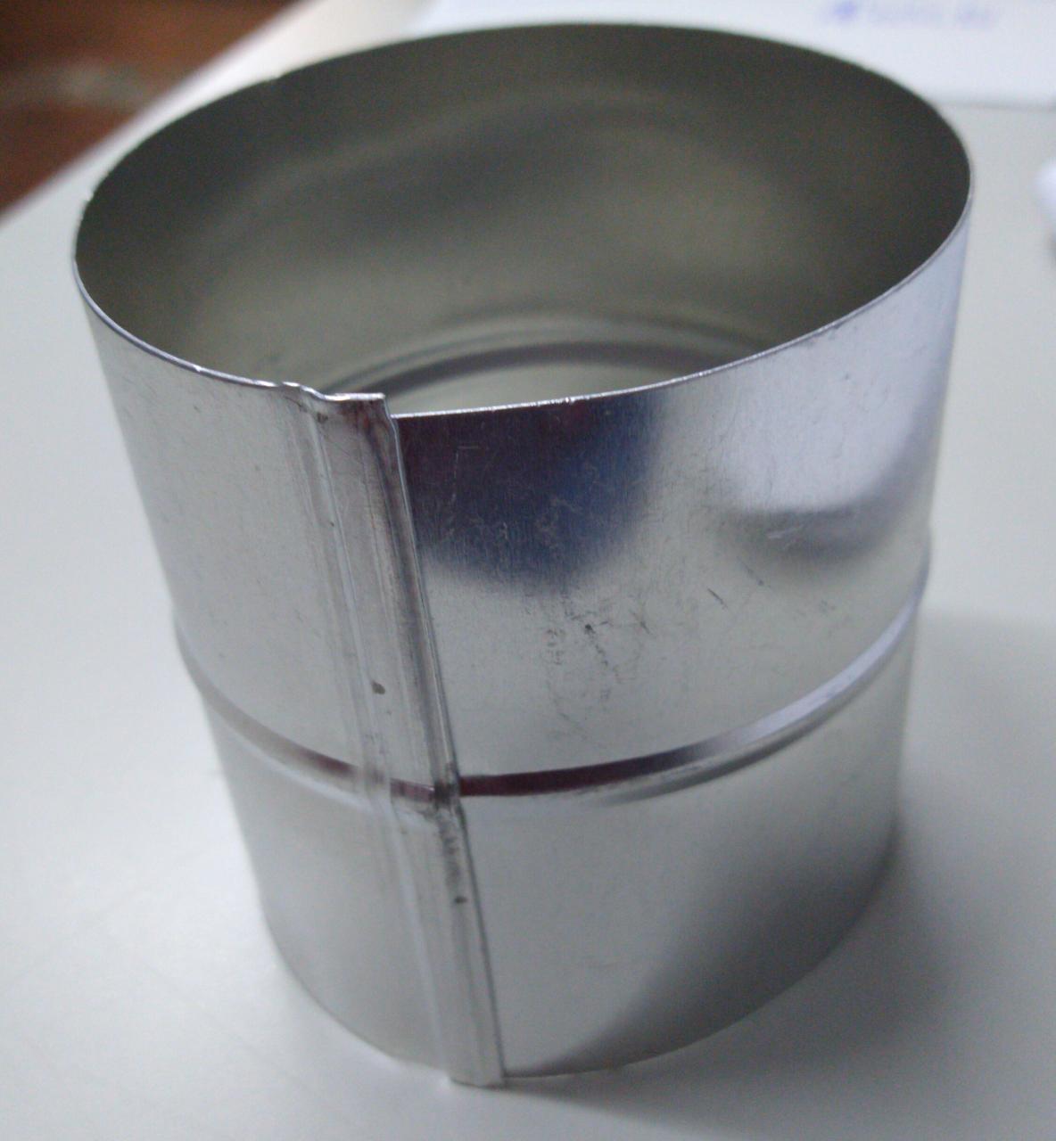 Luva Tipo Bocal - Mod União Aluminio 100 mm