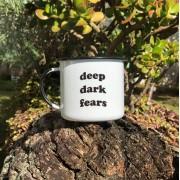 Caneca esmaltada Deep Dark Fears