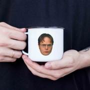 Caneca esmaltada Dwight