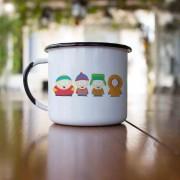 Caneca esmaltada South Park