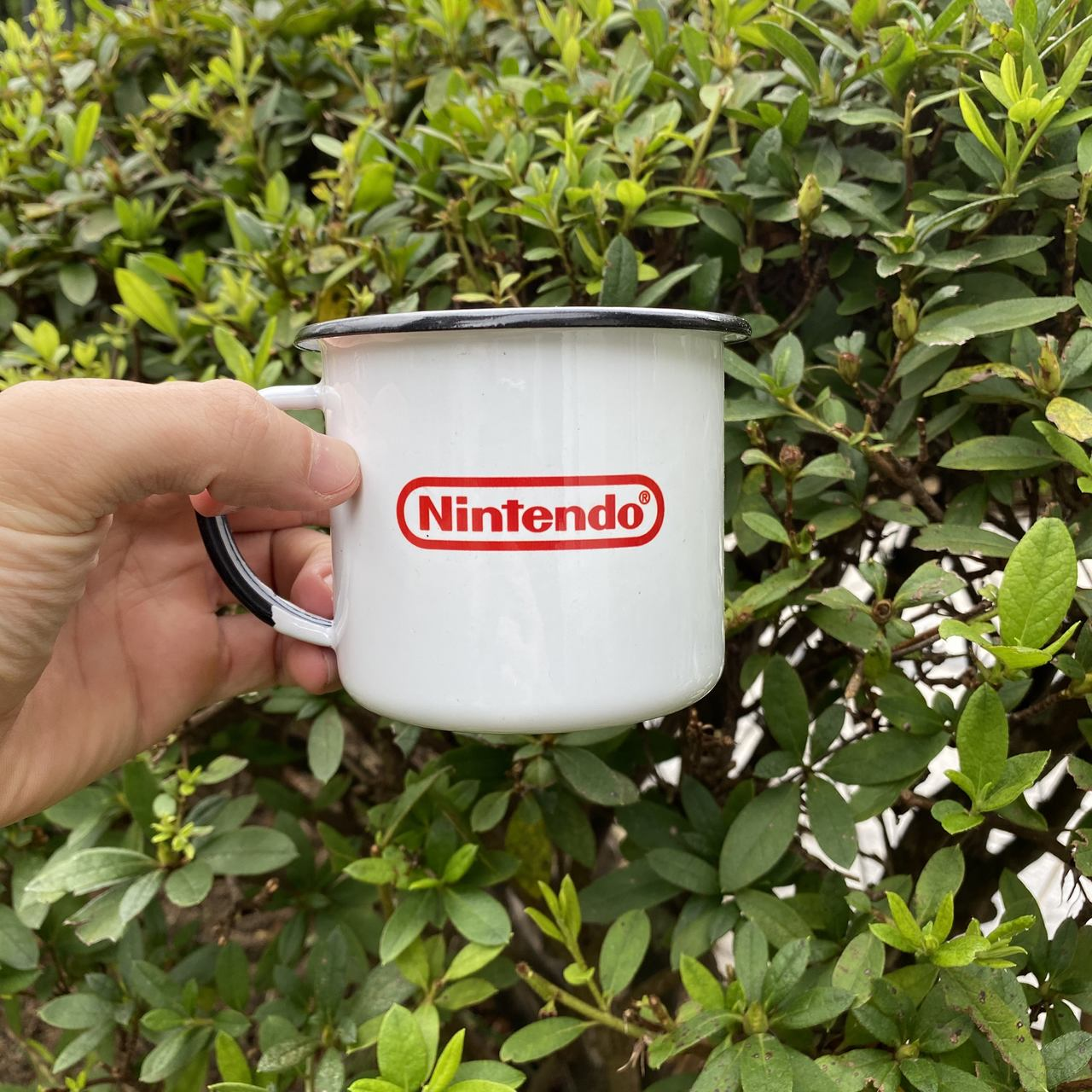 Caneca esmaltada Nintendo
