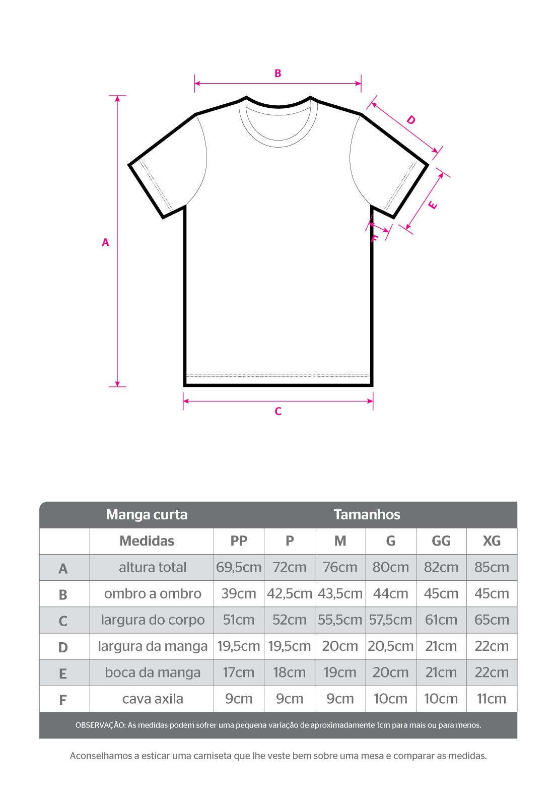 Kit camiseta sustentável básica 3 peças economize 56 reais