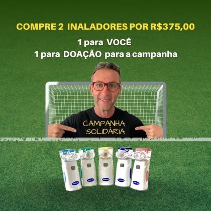 Campanha Opção B - 2 inaladores por R$375,00  - 1 para você e  1 para doação para a campanha