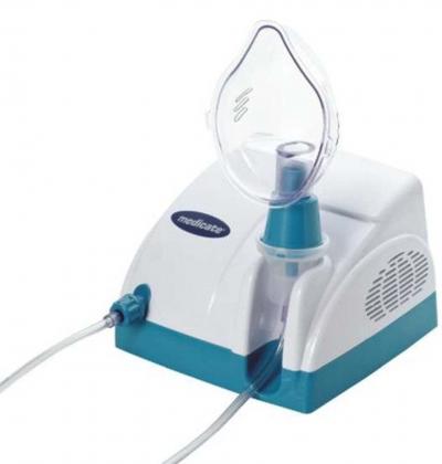 Inalador nebulizador verde MD1000 Medicate