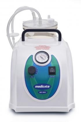 Bomba vácuo aspiradora veterinária 3 litros MD300VET Medicate