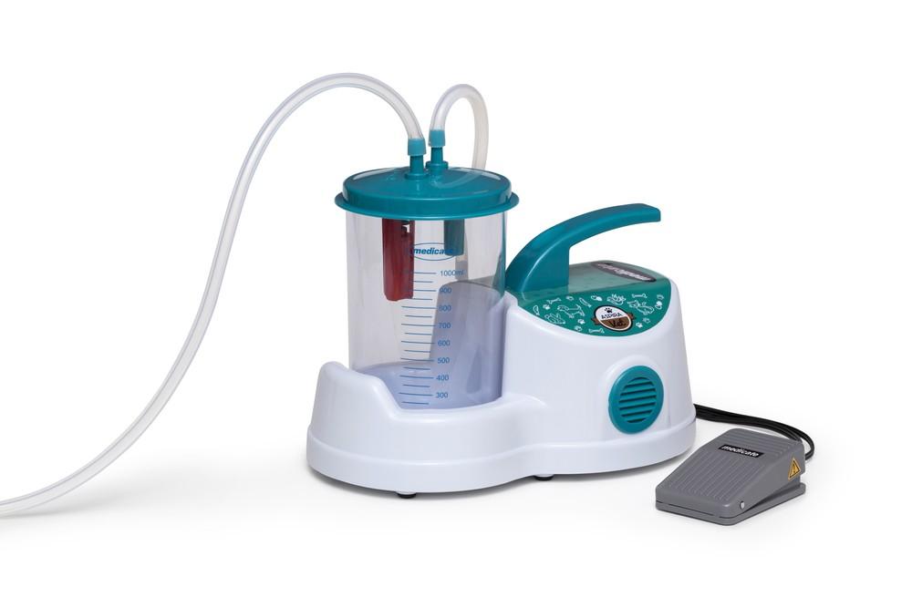 ASPIRAVET bomba vácuo aspiradora veterinária 1 litro Medicate