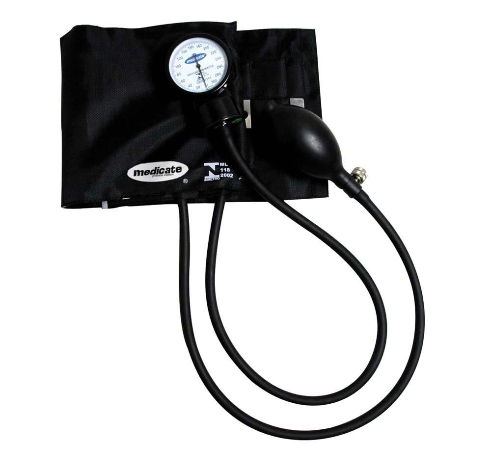 Esfigmomanômetro Medicate adulto fechamento botão