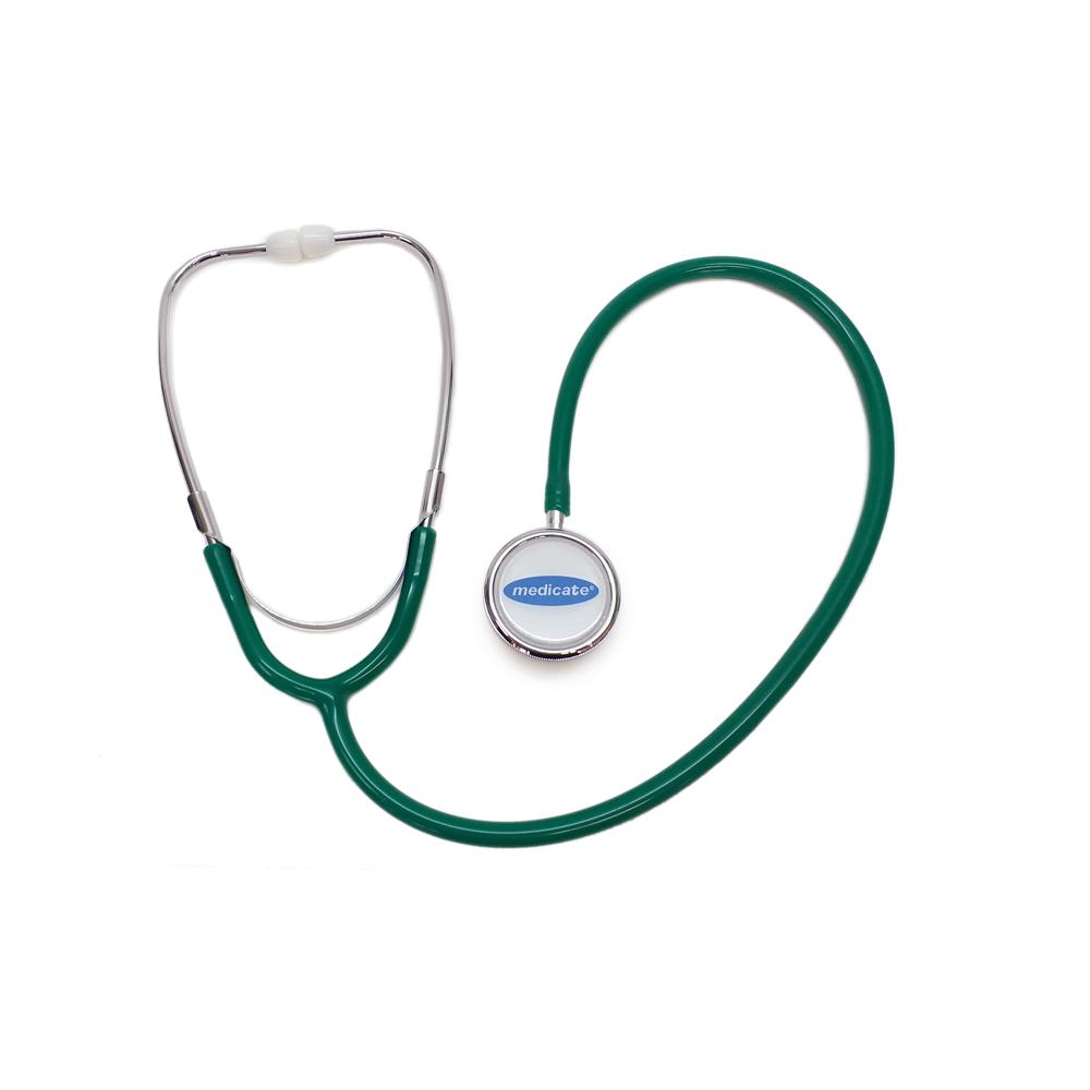 Estetoscópio Medicate DUPLO - CORES diversas
