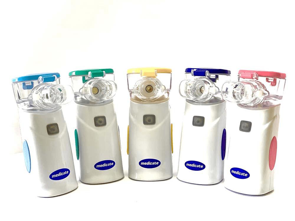 Inalador rede vibratória nacional Air Mesh Colors Medicate