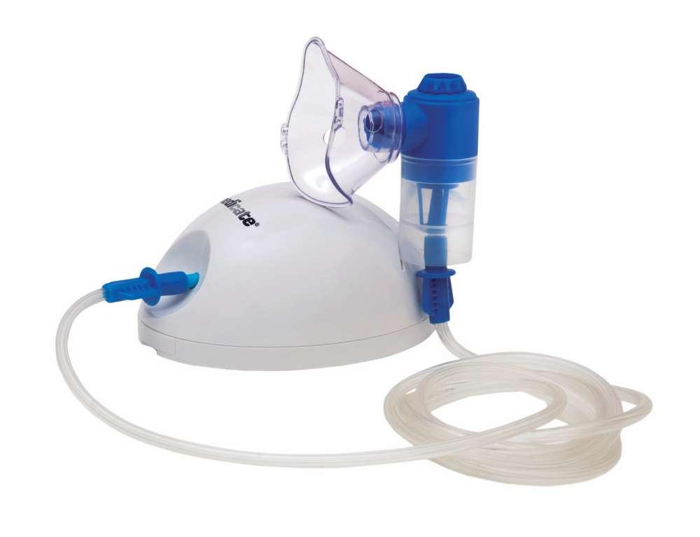 Inalador nebulizador AIR COMP com REGULAGEM de névoa MD1500RG Medicate