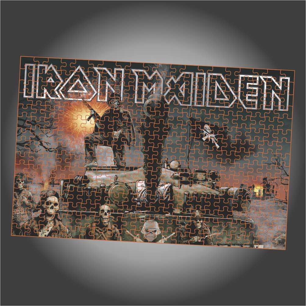 Quebra Cabeça Iron Maiden - A Matter Of Life And Death - Edição LIMITADA