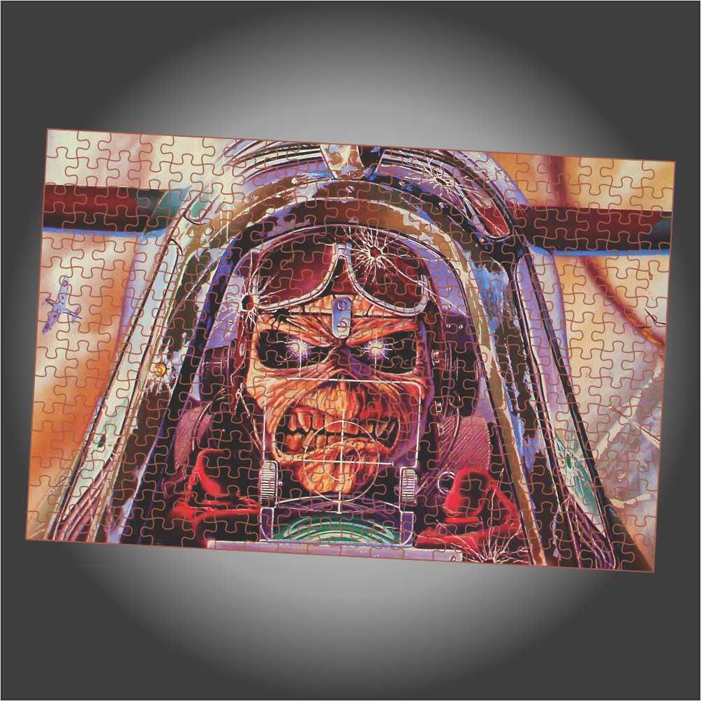 Quebra Cabeça Iron Maiden - Aces High - Edição LIMITADA
