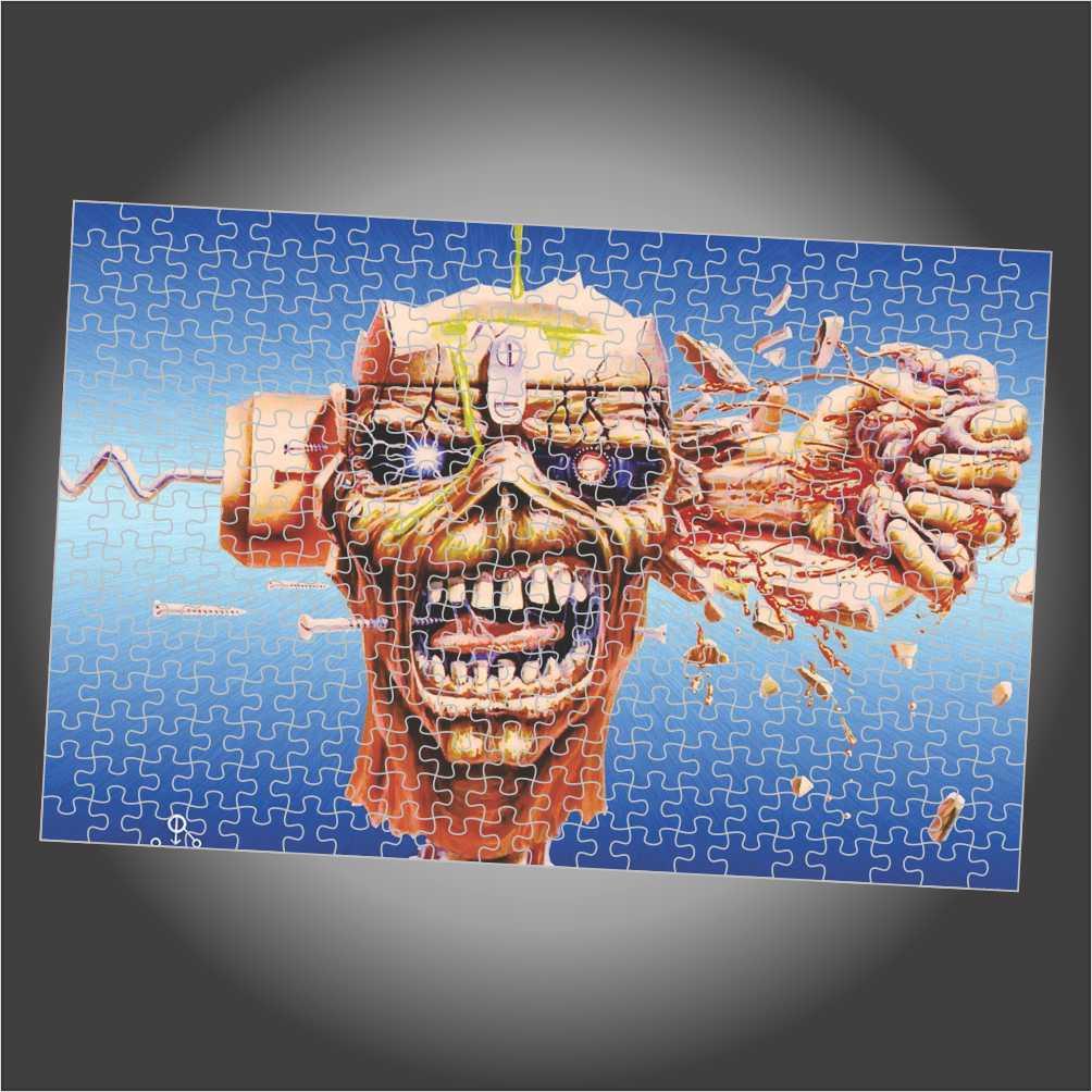 Quebra Cabeça Iron Maiden - Can I Play With Madness - Edição LIMITADA
