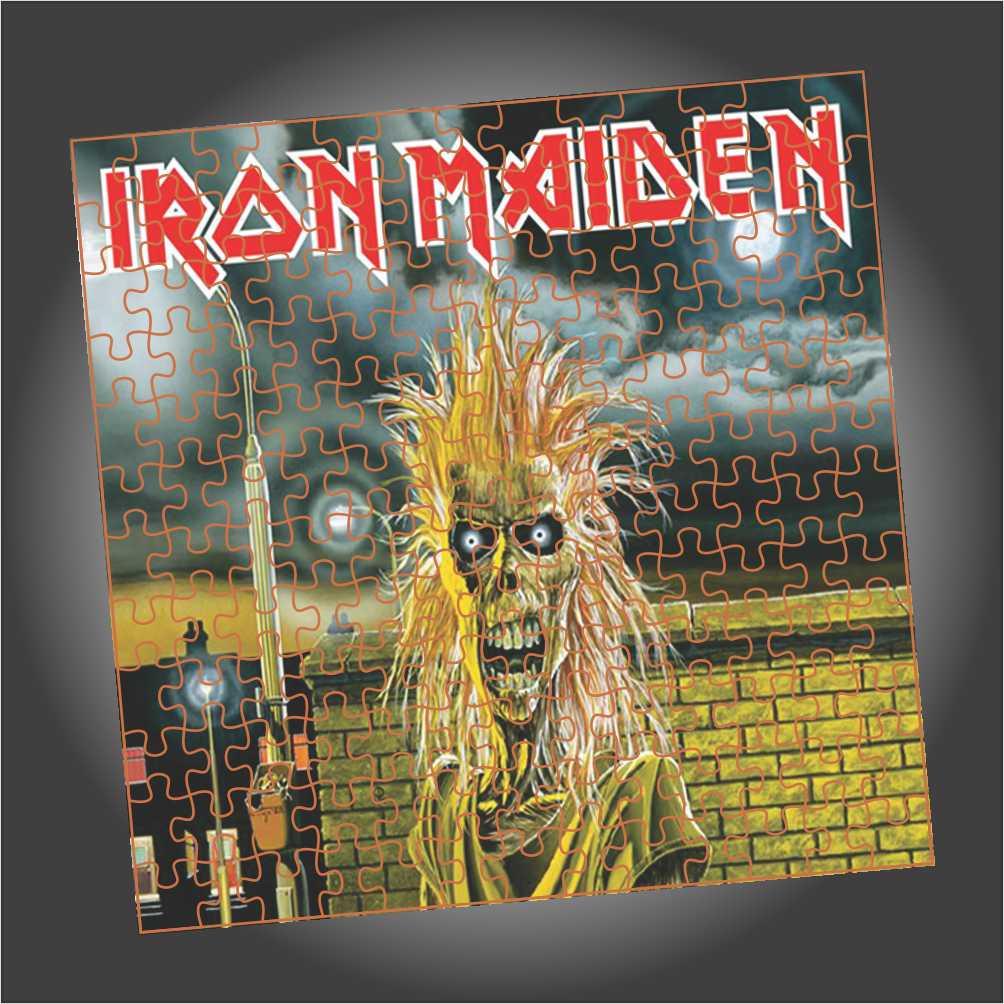Quebra Cabeça Iron Maiden - Capa do Album Iron Maiden - Edição LIMITADA