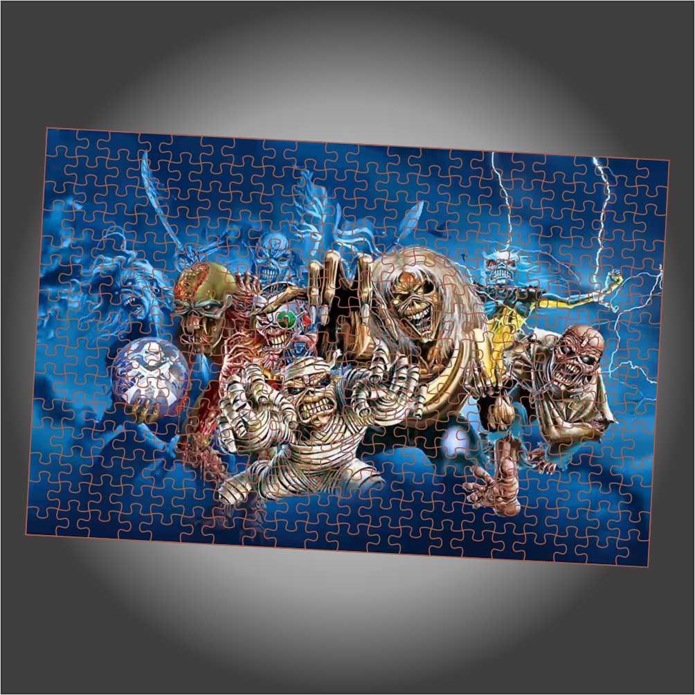 Quebra Cabeça Iron Maiden - Eddie Evolution - Edição LIMITADA
