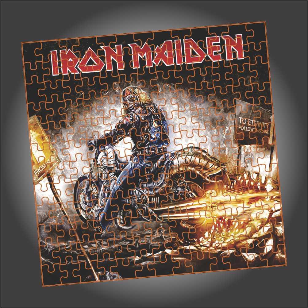Quebra Cabeça Iron Maiden - Eddie Rider - Edição LIMITADA