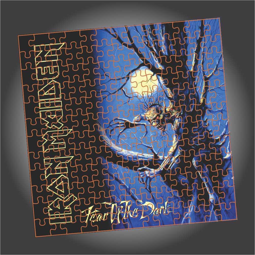 Quebra Cabeça Iron Maiden - Fear Of The Dark- Edição LIMITADA