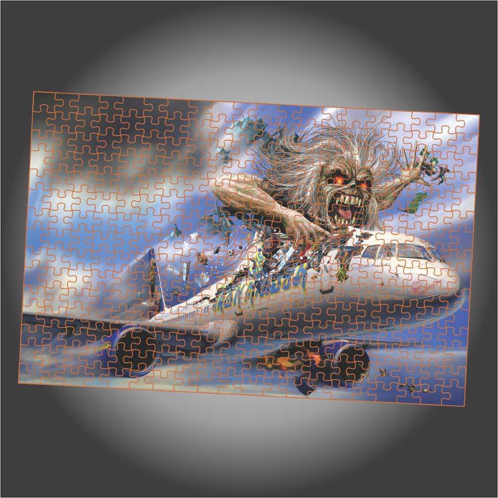 Quebra Cabeça Iron Maiden - Flight 666 - Edição LIMITADA
