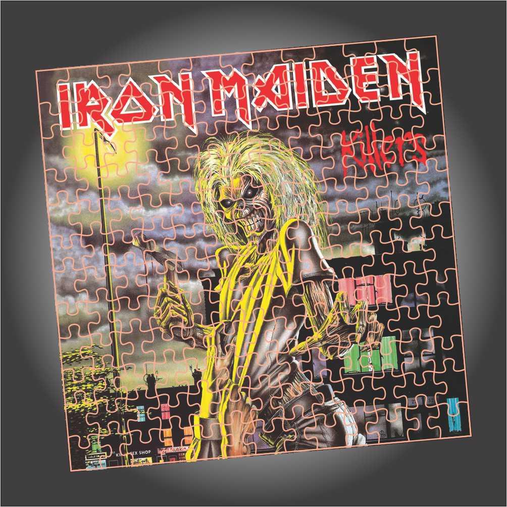 Quebra Cabeça Iron Maiden - Killers - Edição LIMITADA - Quadrado