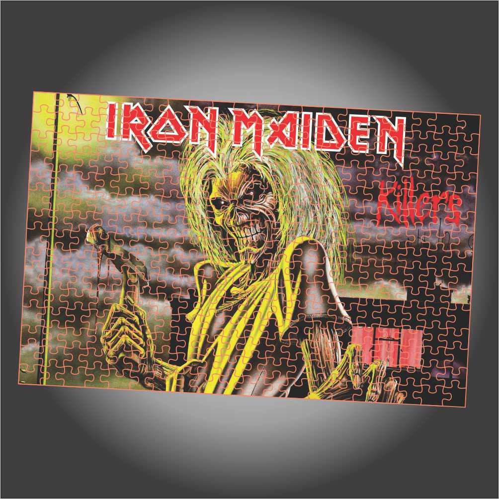 Quebra Cabeça Iron Maiden - Killers - Edição LIMITADA - Retangular