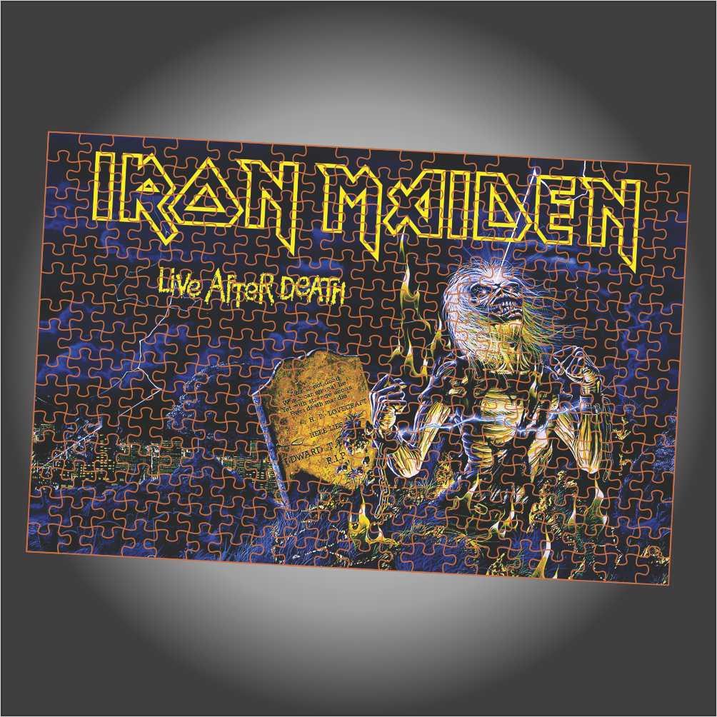 Quebra Cabeça Iron Maiden - Live After Death - Edição LIMITADA