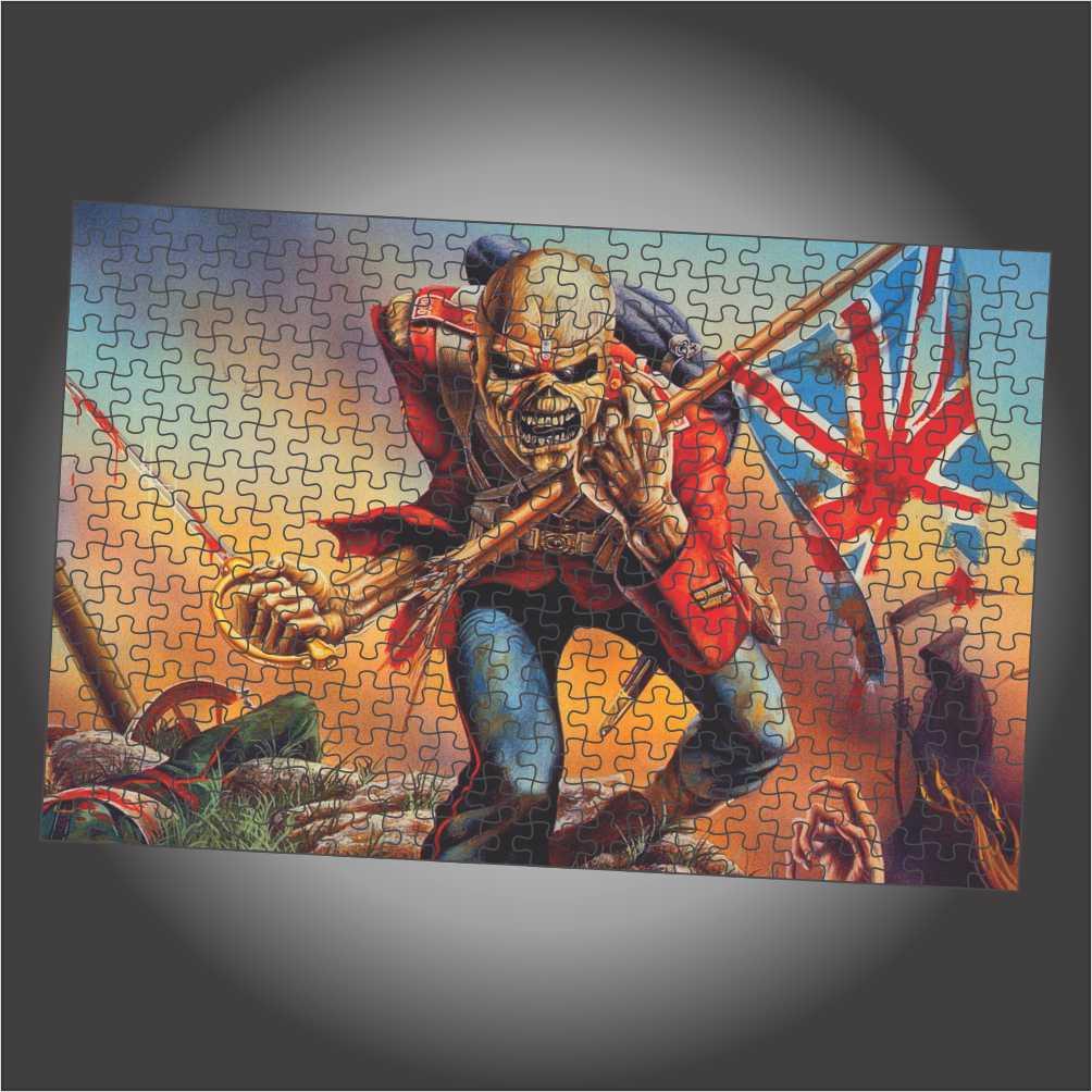 Quebra Cabeça Iron Maiden - The Trooper - Edição LIMITADA